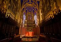 Unser Kleinod. Die Kapelle aus der Renaissancezeit strahlt mit ihrem tiefblauen «Sternenhimmel» und dem spätgotischen Flügelaltar einen ganz besonderen Charme aus - ein exklusiver und intimer Rahmen für Ihre Trauung.